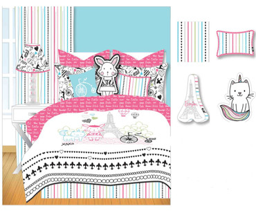 Bon Jour Sheet Set