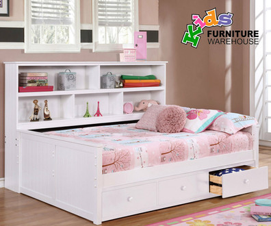 Upgrade Your Child's Room With a Full Size Captains Bed