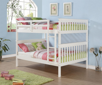 Save Space And Money With A Full Over Full Bunk Bed