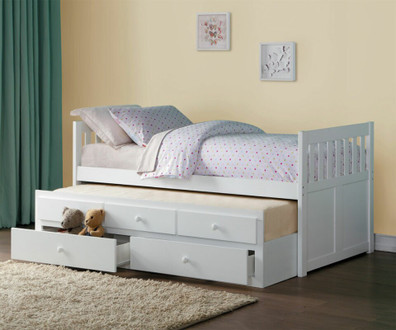 Twin Size Captain's Beds For Under $500