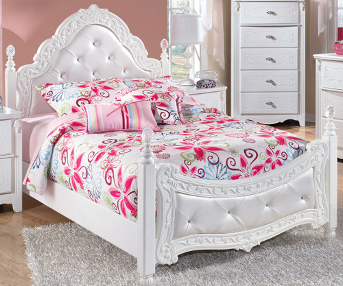 Exquisite Full Size Poster Bed   Ashley Furniture   ASB188-72