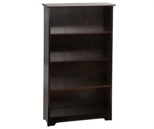 Atlantic 4 Tier Bookcase Espresso | Atlantic Furniture | ATL-C-69301