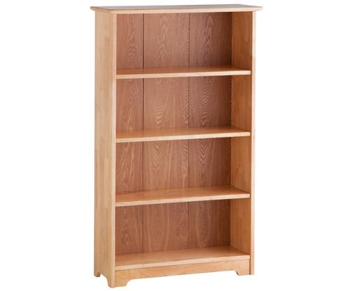 Atlantic 4 Tier Bookcase Natural Maple   Atlantic Furniture   ATL-C-69305