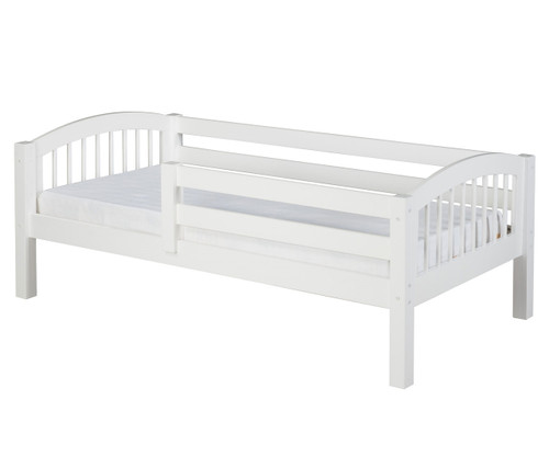 Camaflexi Day Bed with Front Safety Rail White | Camaflexi Furniture | CF-E303