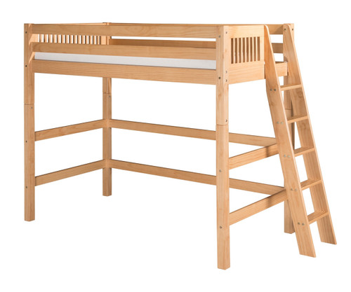 Camaflexi High Loft Bed Twin Size Natural 1 | Camaflexi Furniture | CF-E611L