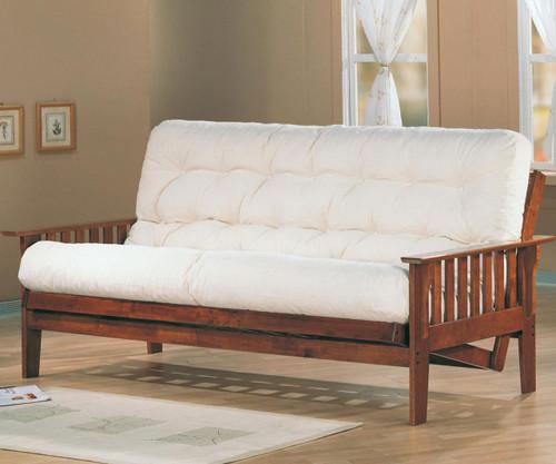 Coaster Dirty Oak Futon Sofa | Coaster Furniture | CS4382