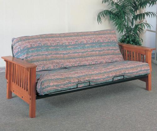 Coaster Oak Futon Sofa | Coaster Furniture | CS4844