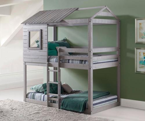 Deer Blind Bunk Bed | Donco Trading | DT1370TTLG