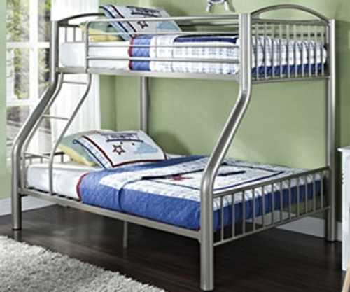 Donco Metal Twin Over Full Bunk Bed Kids And Teens Bedroom Furniture Donco Trading