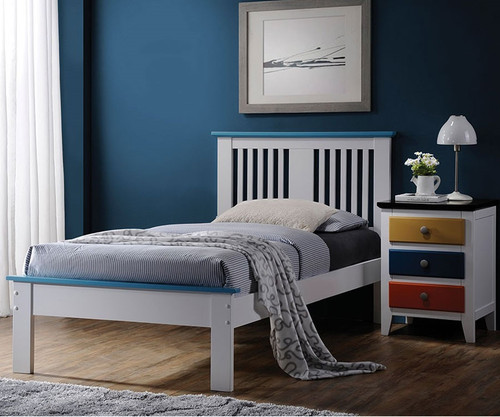 Howard Platform Bed Twin Size   Donco Trading   DT990TW