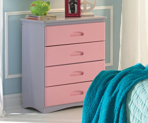 Doll House II Four Drawer Chest | Discovery World Furniture | DWF0355