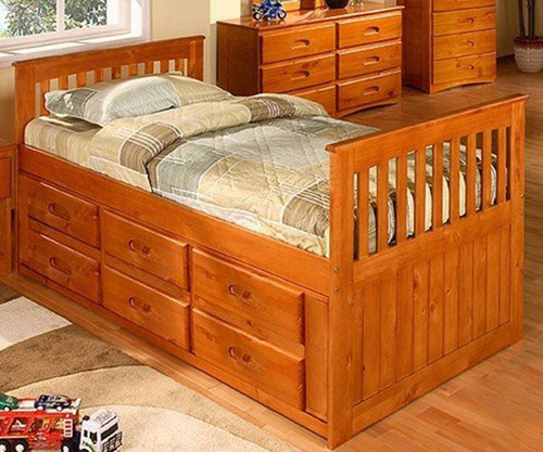 Ridgeline Captains Bed