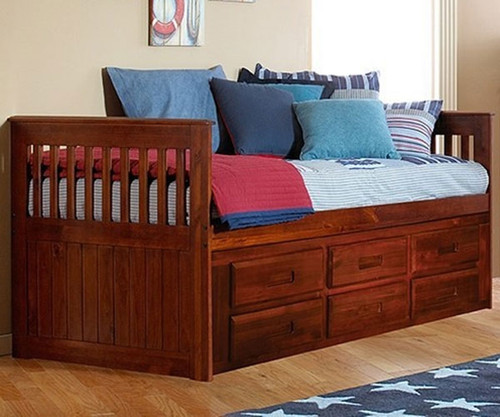 Acadia Captains Bed | Discovery World Furniture | DWF2835-6