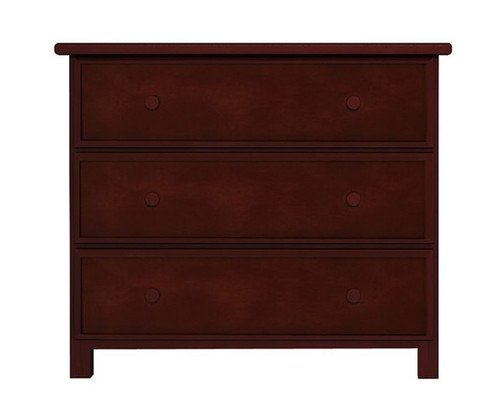 Jackpot 3 Drawer Dresser Cherry | Jackpot Kids Furniture | JACKPOT-714030-004