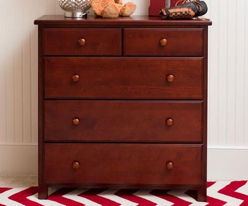 Jackpot 5 Drawer Dresser Cherry | Jackpot Kids Furniture | JACKPOT-714123-004