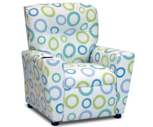 Kidz World Recliner Designer Fabric Spa Capri | Kidz World | KW1300-SPC