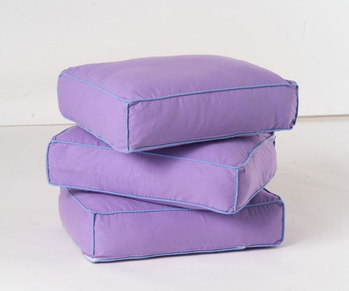 Maxtrix Back Pillows - Set of Three - Purple/Light Blue | Maxtrix Furniture | MX-3740-047