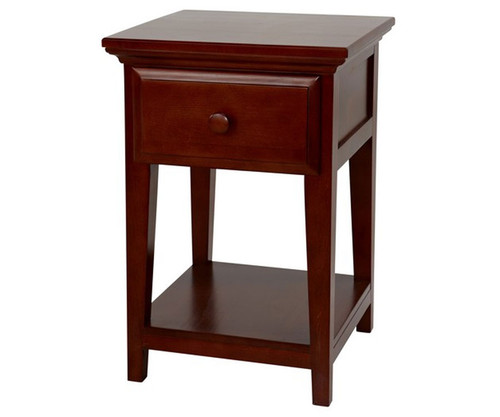 Maxtrix 1 Drawer Nightstand Chestnut | Maxtrix Furniture | MX-4210-C