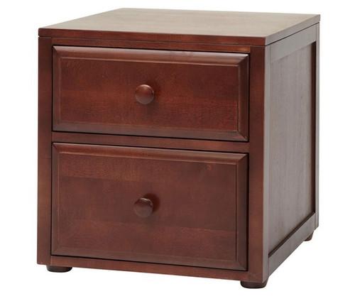 Maxtrix 2 Drawer Nightstand Chestnut | Maxtrix Furniture | MX-4220-C