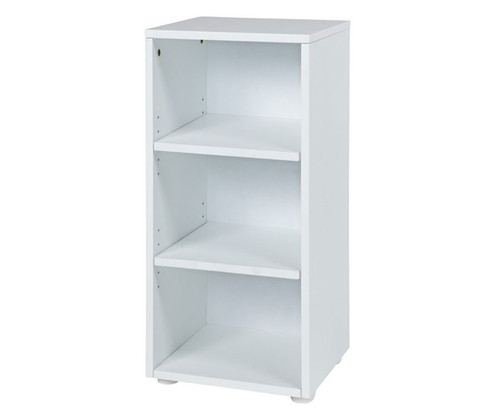 Maxtrix Narrow 3 Shelf Bookcase White | Maxtrix Furniture | MX-4725-W