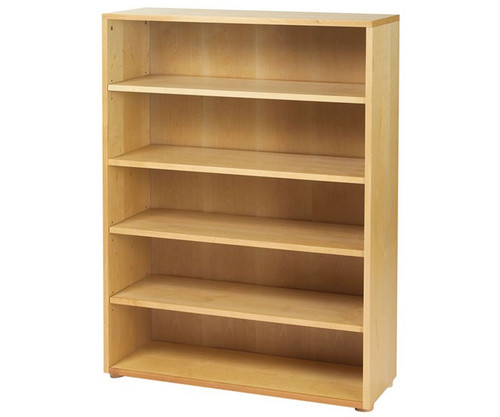 Maxtrix 5 Shelf Bookcase Natural | Maxtrix Furniture | MX-4750-N