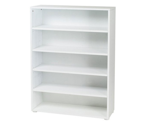 Maxtrix 5 Shelf Bookcase White | Maxtrix Furniture | MX-4750-W