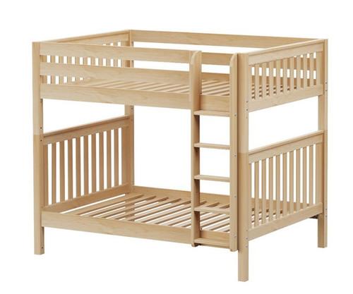 Maxtrix BUFF High Bunk Bed Full Size Natural | Maxtrix Furniture | MX-BUFF-NX
