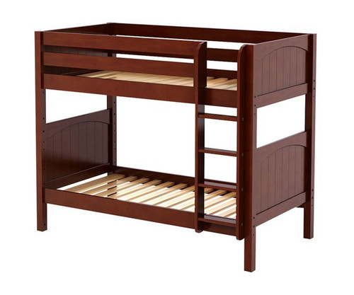 Maxtrix GETIT Medium Bunk Bed Twin Size Chestnut | Maxtrix Furniture | MX-GETIT-CX