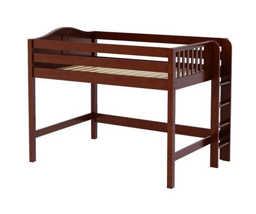 Maxtrix HIP Mid Loft Bed Full Size Chestnut | Maxtrix Furniture | MX-HIP-CX