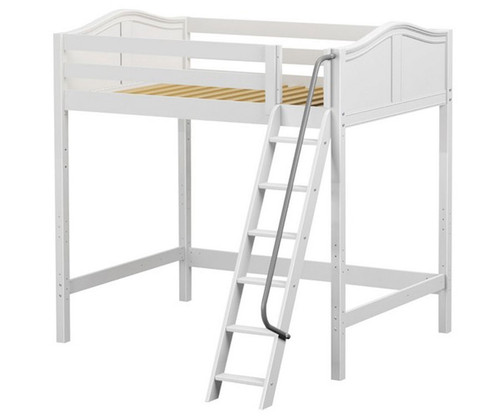 Maxtrix GIANT Ultra-High Loft Bed Full Size White   Maxtrix Furniture   MX-ULTRAGIANT-WX