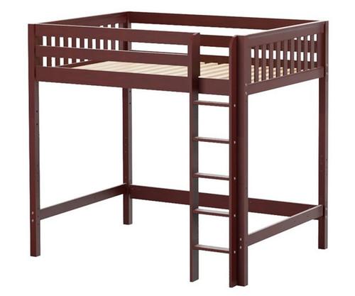 Maxtrix GRAND Ultra-High Loft Bed Full Size Chestnut   Maxtrix Furniture   MX-ULTRAGRAND-CX