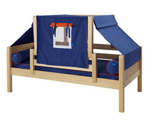 Maxtrix YO Day Bed with Top Tent Twin Size Natural 8 | Maxtrix Furniture | MX-YO42-N