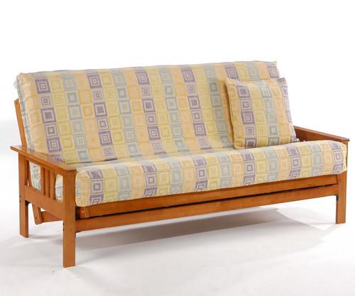 Monterey Futon Sofa Honey Oak | Night and Day Furniture | ND-Monterey-HO