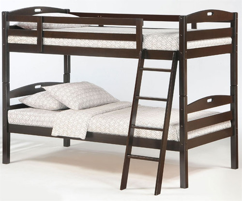 Sesame Bunk Bed Chocolate 1 | Night & Day Furniture | NDSES-CHC-CL