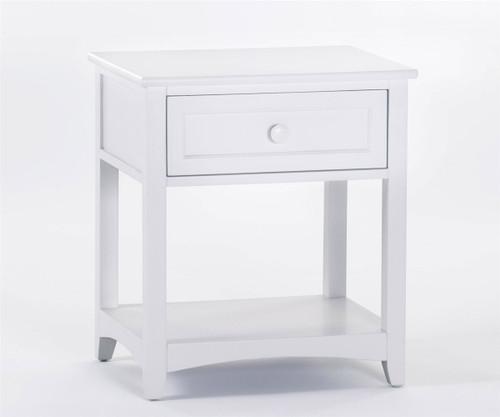 School House Nightstand White | NE Kids Furniture | NE-7530