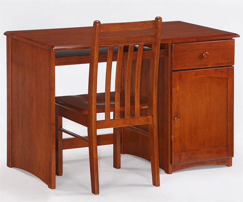 Timber Creek Desk Cherry   Night & Day Furniture   NE-CLOVE-DK-CH