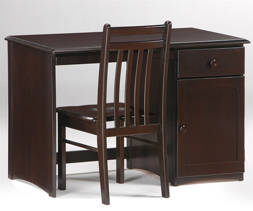 Timber Creek Desk Chocolate | Night & Day Furniture | NE-CLOVE-DK-CT
