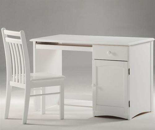 Timber Creek Desk White | Night & Day Furniture | NE-CLOVE-DK-WH
