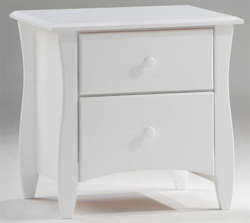 Timber Creek Nightstand White   Night & Day Furniture   NE-CLOVE-NS-WH