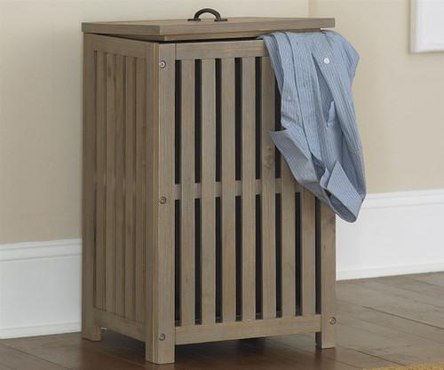 Everglades Clothes Hamper Driftwood | NE Kids Furniture | NE10580