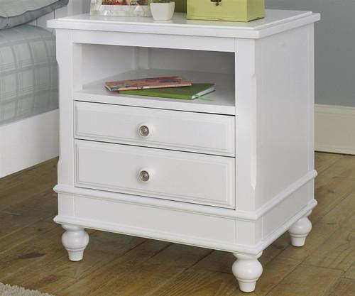 Lakehouse Nightstand White | NE Kids Furniture | NE1530