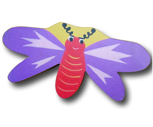 Purple Dragonfly Drawer Pull 1 | One World | OW-DP518