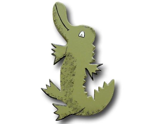 Crocodile Drawer Pull | One World | OW-DP552