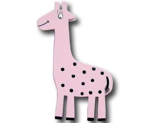 Pink Giraffe Drawer Pull | One World | OW-DP553