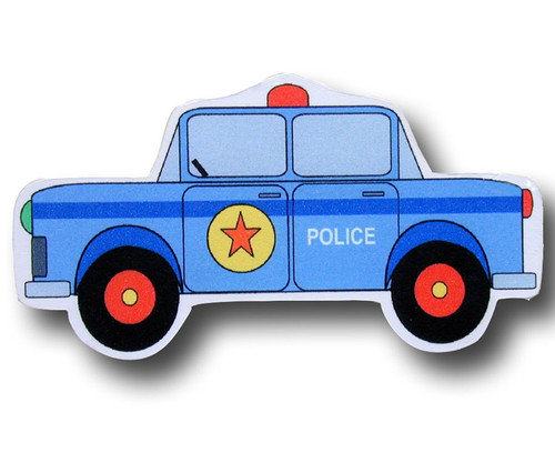 Police Cruiser Drawer Pull | One World | OW-DP621