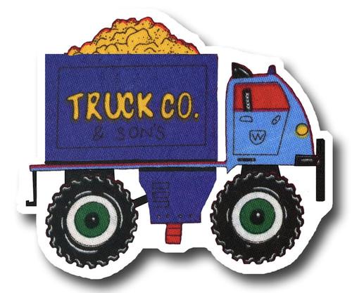 Blue Big Wheel Truck Drawer Pull | One World | OW-DP623