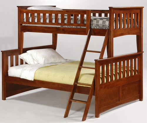Timber Creek Twin over Full Bunk Bed Cherry | Night and Day Furniture | TCTFB-CHR