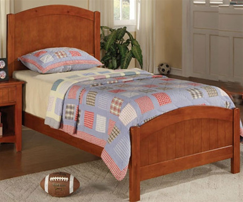 Sonoma Twin Size Panel Bed | Poundex Furniture | UF9206CL
