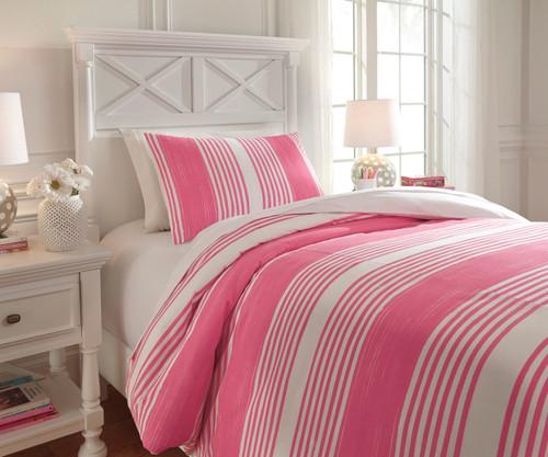 Walson Bedding Set Pink