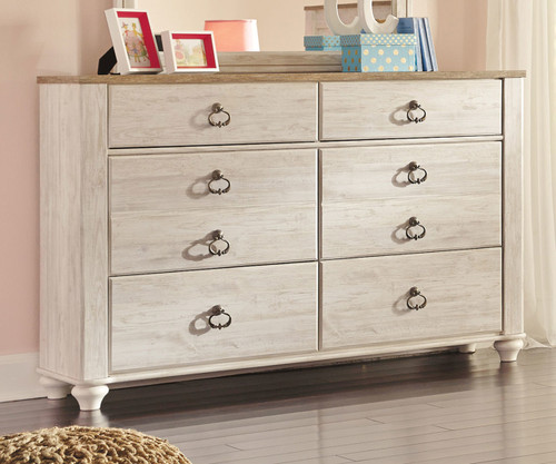 Willowton 6 Drawer Dresser